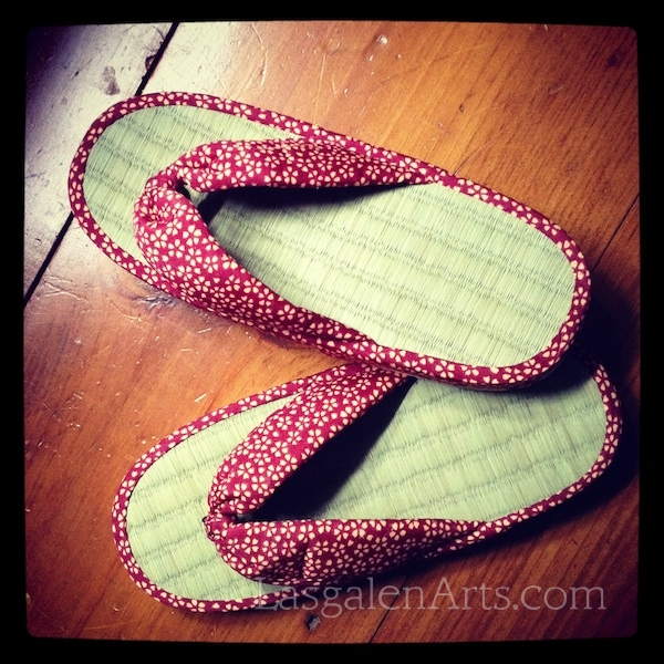 A photo of Japanese zori sandals