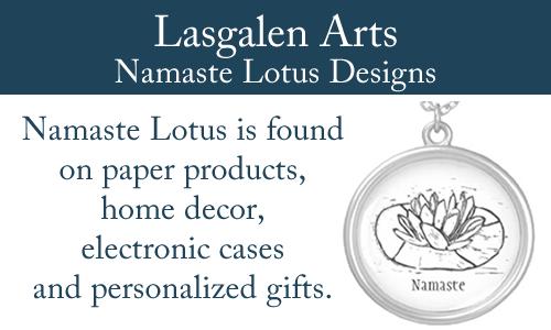 Namaste Lotus Mono Print