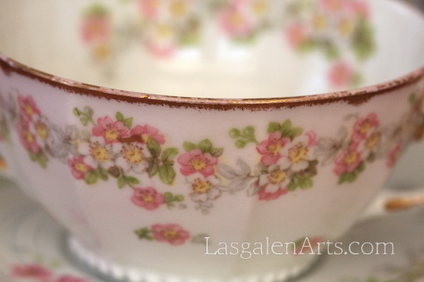 A detailed photograph of a tea cup.