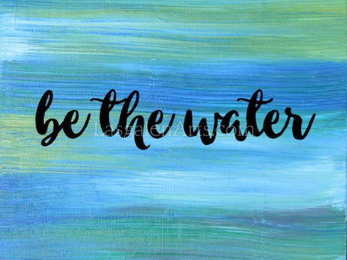 be the water wm